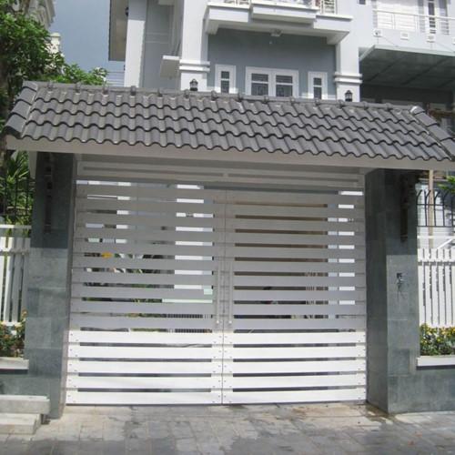 Cổng sắt nhà phố ND01