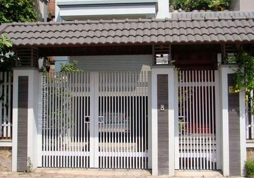Cổng sắt nhà phố ND05