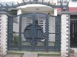 Cổng sắt nhà phố ND07